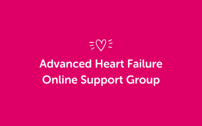 Advanced Heart Failure (Towards Transplant) Online Support Group