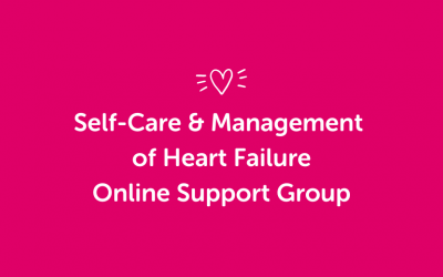 Self-Care & Management of Heart Failure Online Support Group